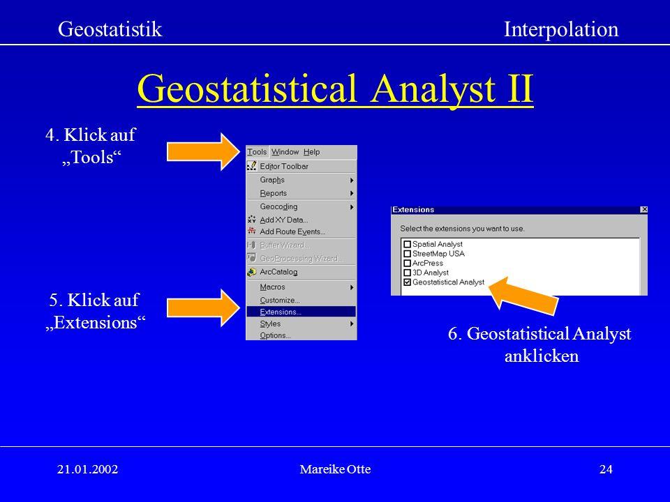 Geostatistical Analyst II