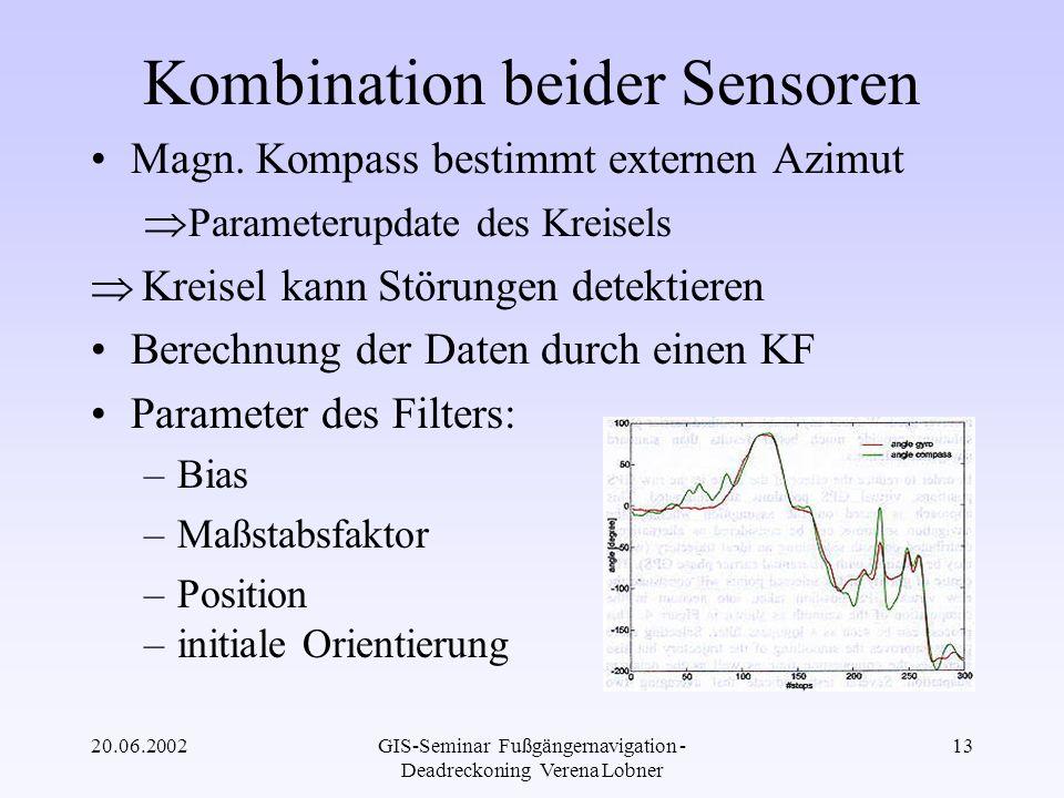 Kombination beider Sensoren
