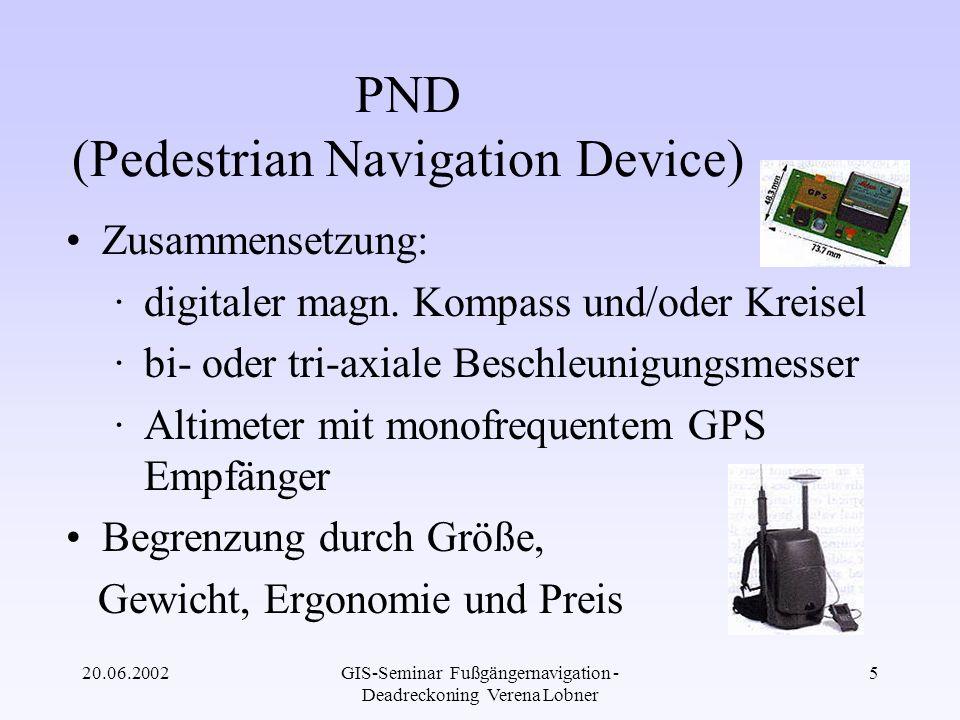 PND (Pedestrian Navigation Device)
