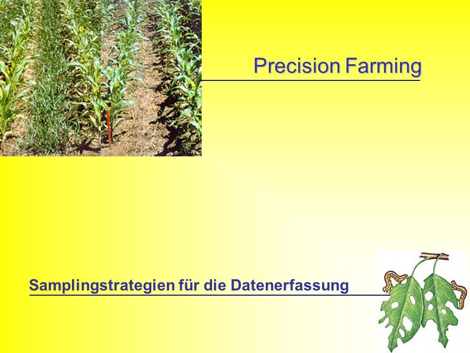 Precision Farming Samplingstrategien für die Datenerfassung