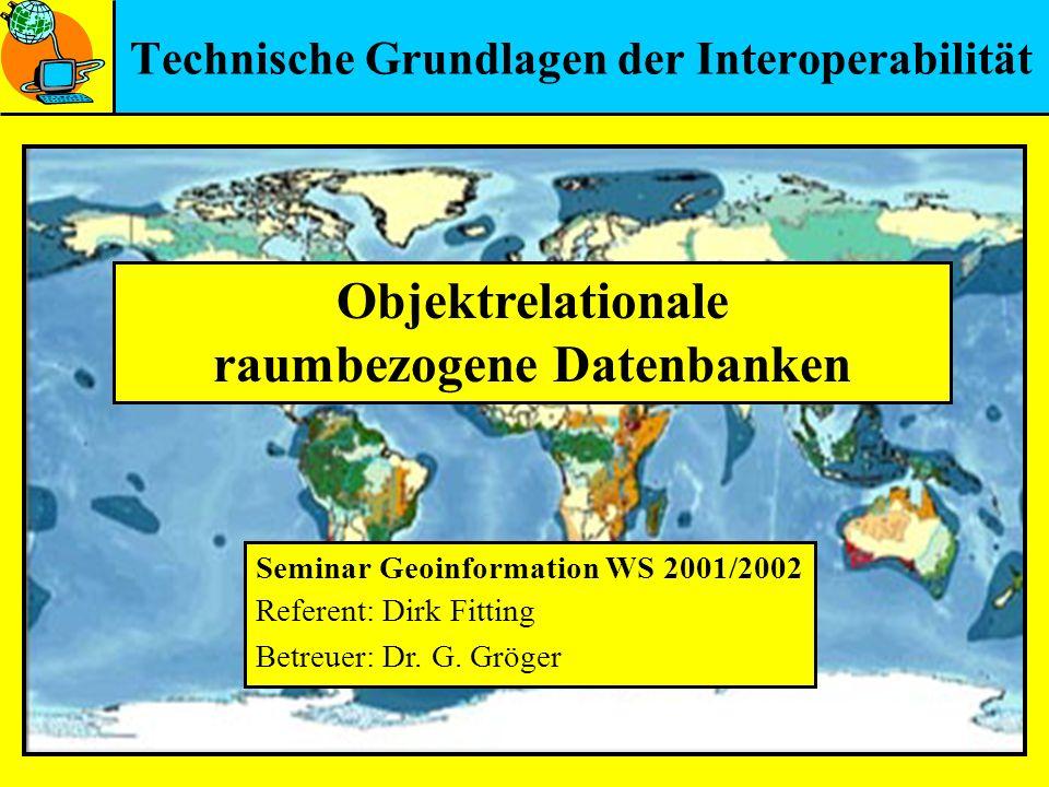 Technische Grundlagen der Interoperabilität