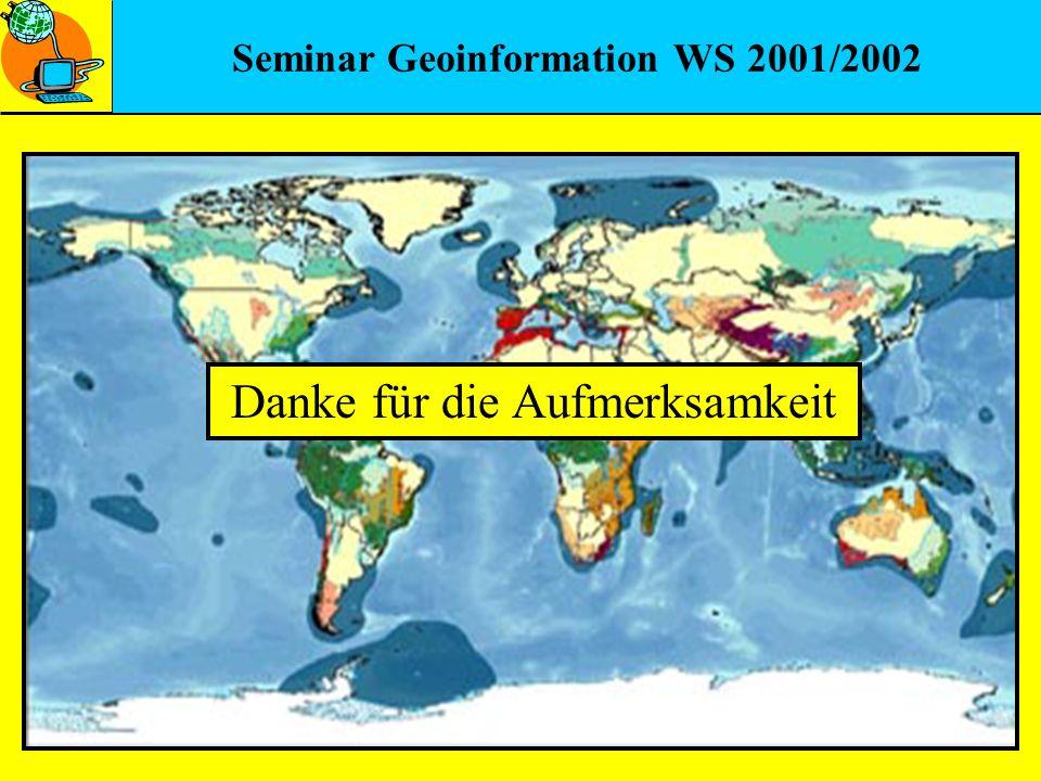 Seminar Geoinformation WS 2001/2002