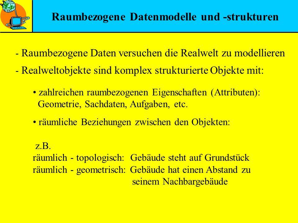 Raumbezogene Datenmodelle und -strukturen