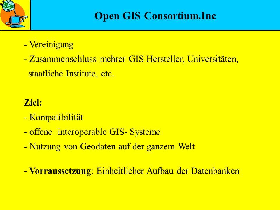 Open GIS Consortium.Inc