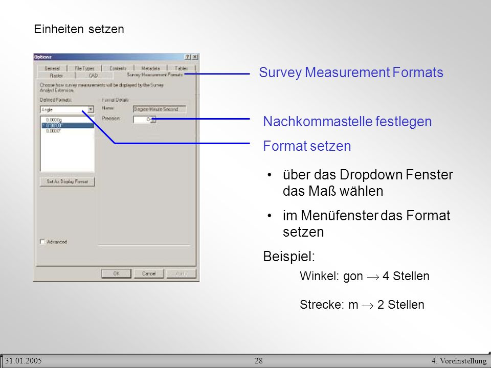 Survey Measurement Formats