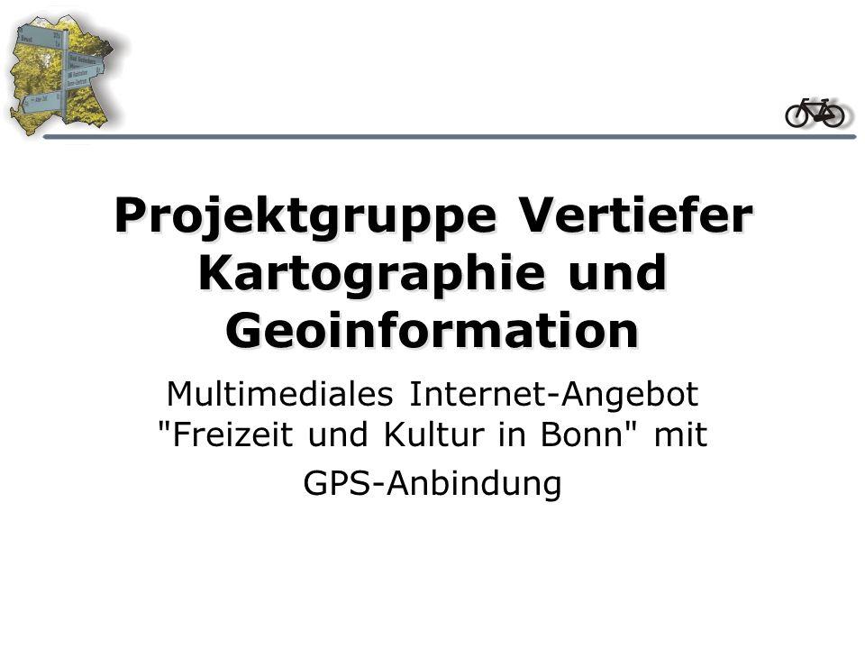 Projektgruppe Vertiefer Kartographie und Geoinformation
