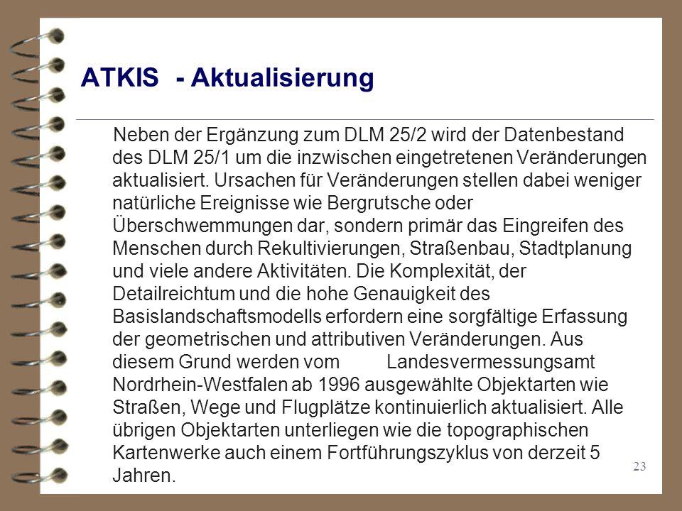 ATKIS - Aktualisierung