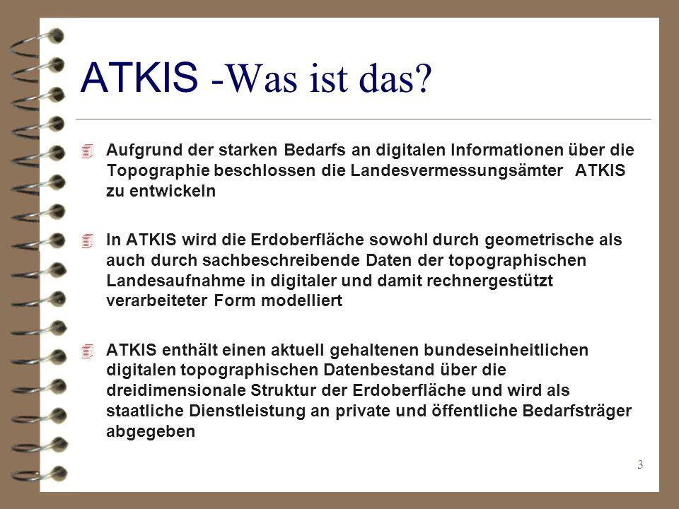 ATKIS -Was ist das