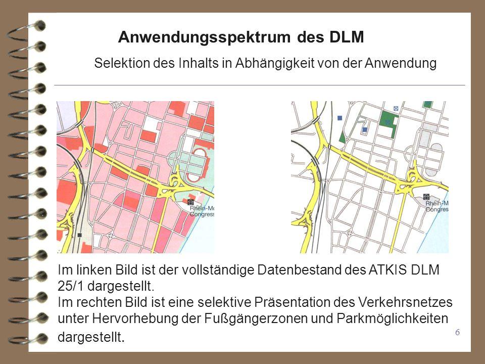 Anwendungsspektrum des DLM