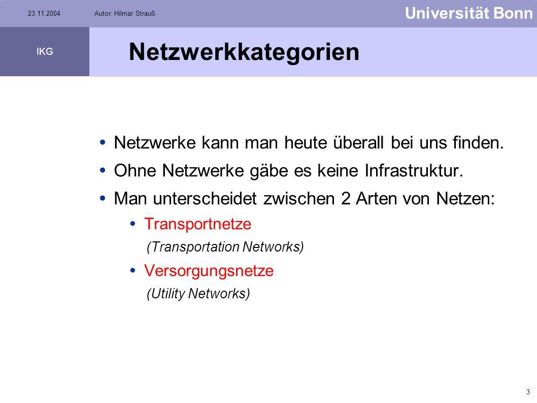 Netzwerkkategorien Netzwerke kann man heute überall bei uns finden.