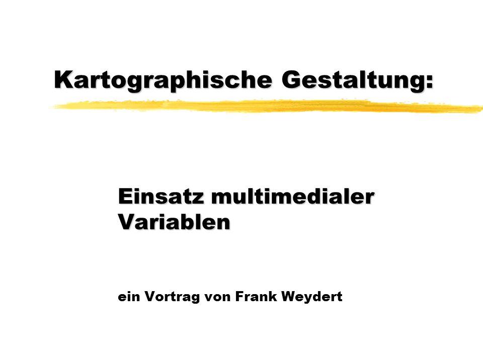 Kartographische Gestaltung: