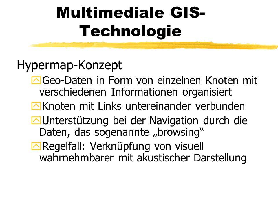 Multimediale GIS-Technologie