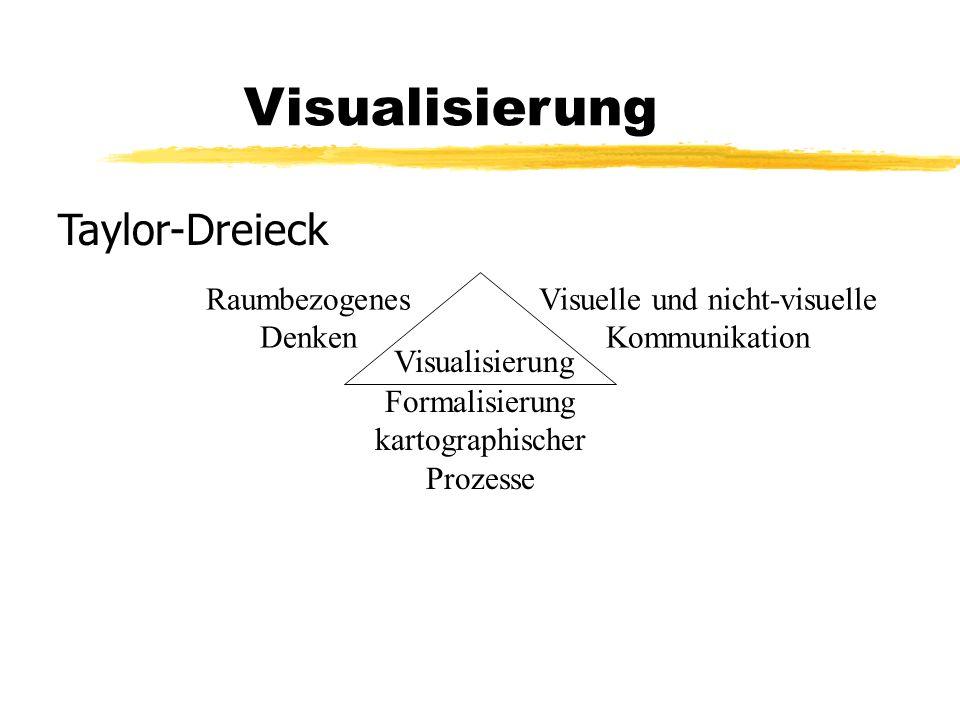Visualisierung Taylor-Dreieck Raumbezogenes Denken Visualisierung