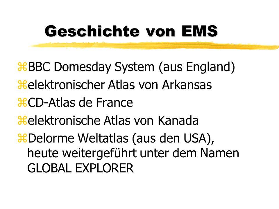 Geschichte von EMS BBC Domesday System (aus England)