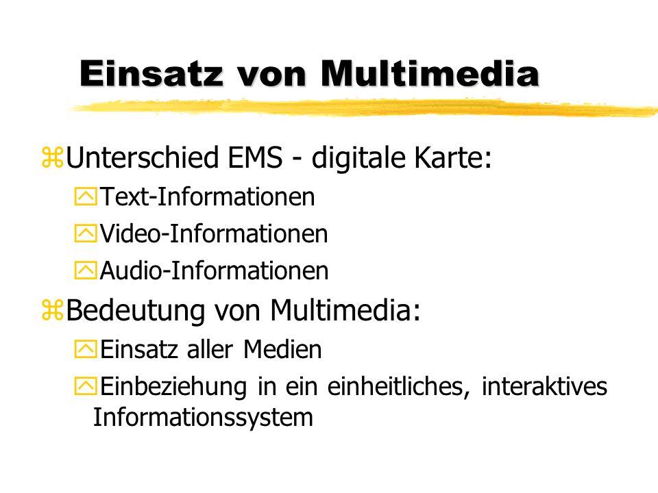 Einsatz von Multimedia