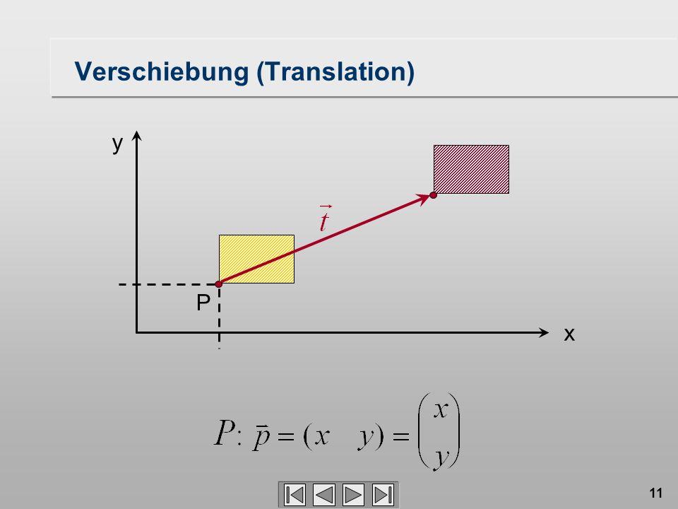 Verschiebung (Translation)