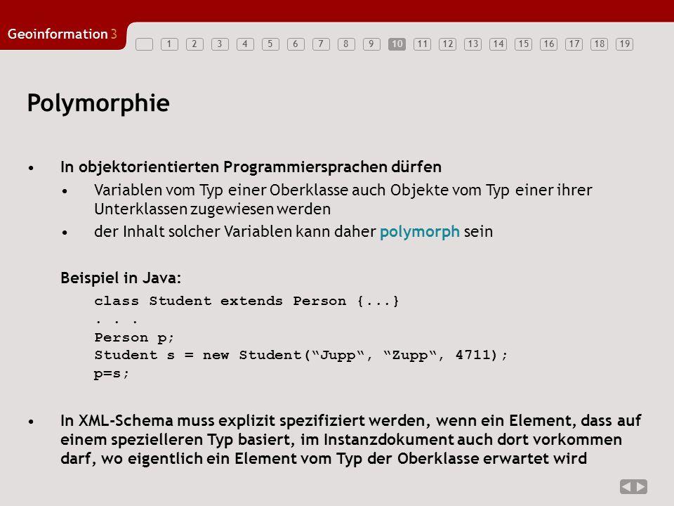 Polymorphie In objektorientierten Programmiersprachen dürfen