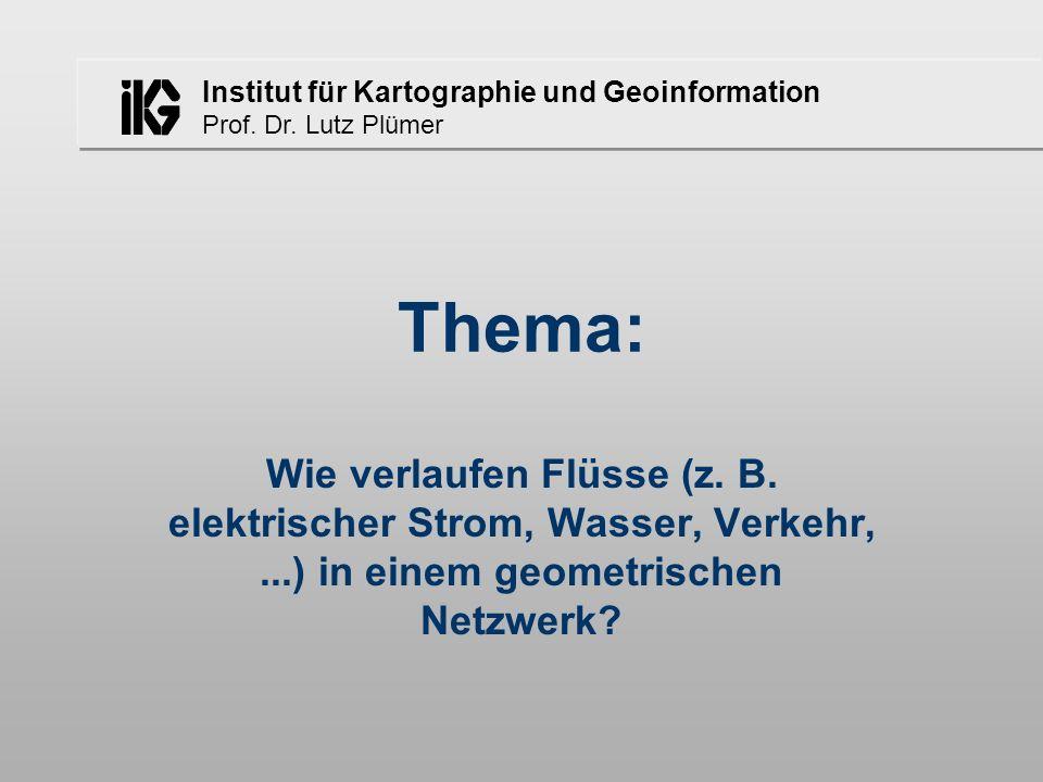 Thema: Wie verlaufen Flüsse (z. B.