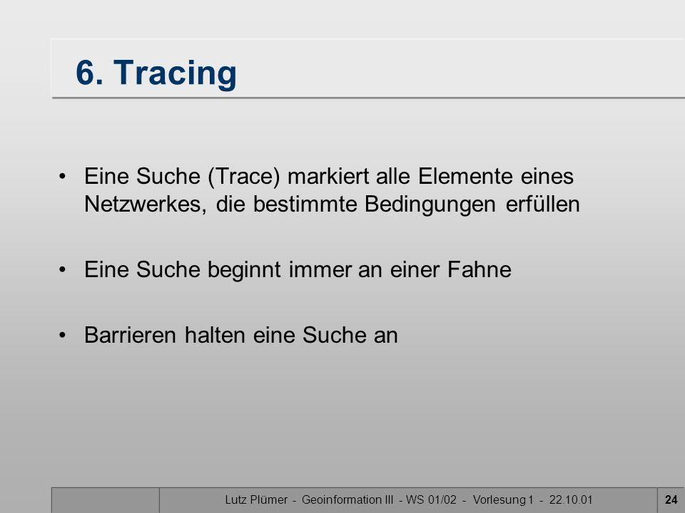 Lutz Plümer - Geoinformation III - WS 01/02 - Vorlesung 1 - 22.10.01