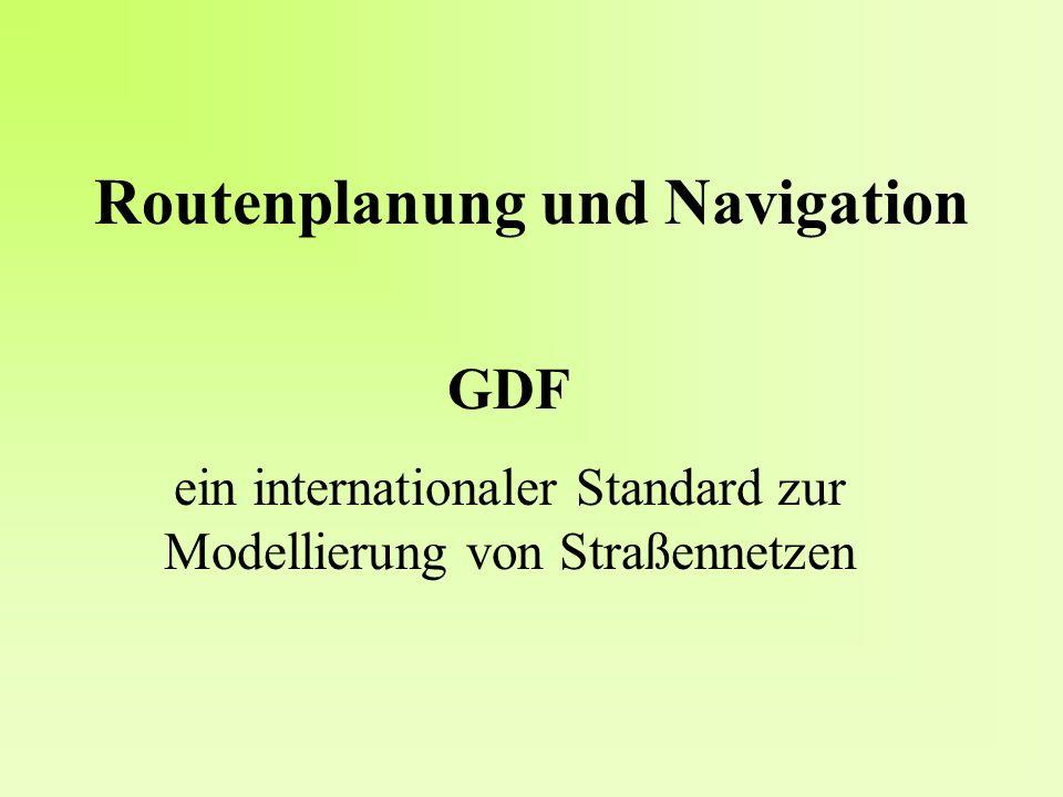 Routenplanung und Navigation
