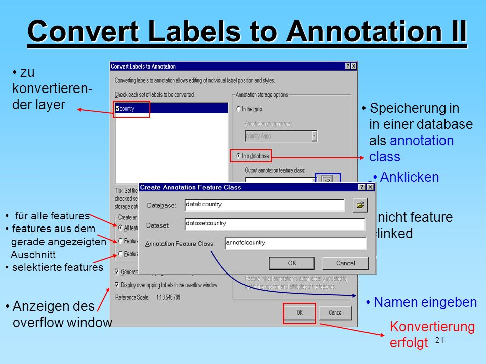 Convert Labels to Annotation II