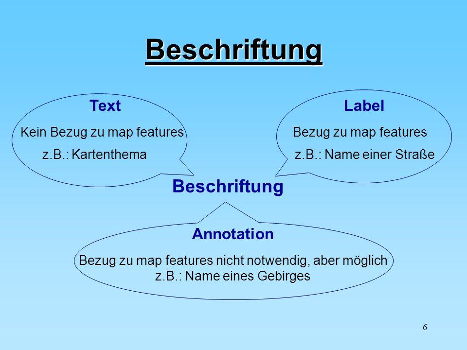 Beschriftung Beschriftung Text Label Annotation