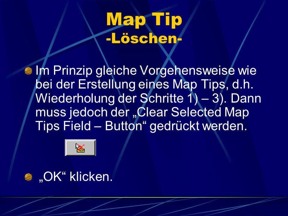 Map Tip -Löschen-