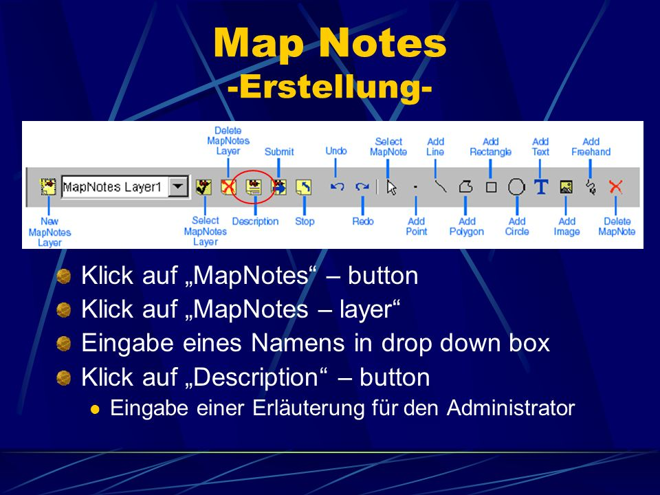 Map Notes -Erstellung-