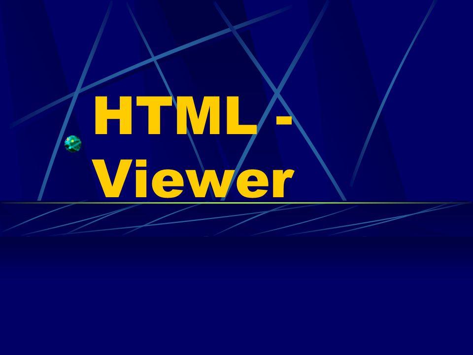 HTML - Viewer
