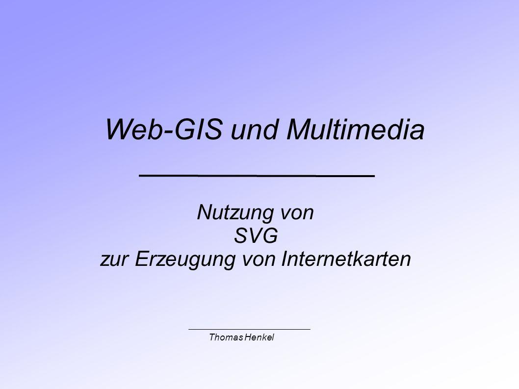 Web-GIS und Multimedia