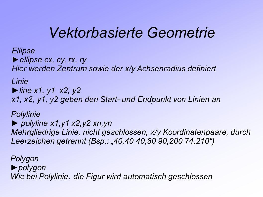 Vektorbasierte Geometrie