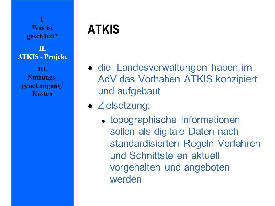 III. Nutzungs-genehmigung/ Kosten