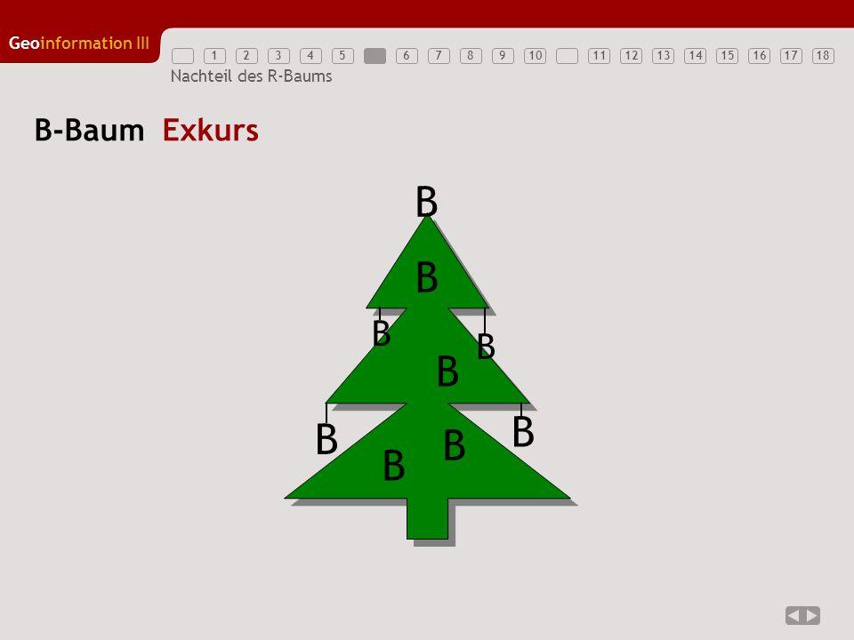 B-Baum Exkurs B B B B B B B B B
