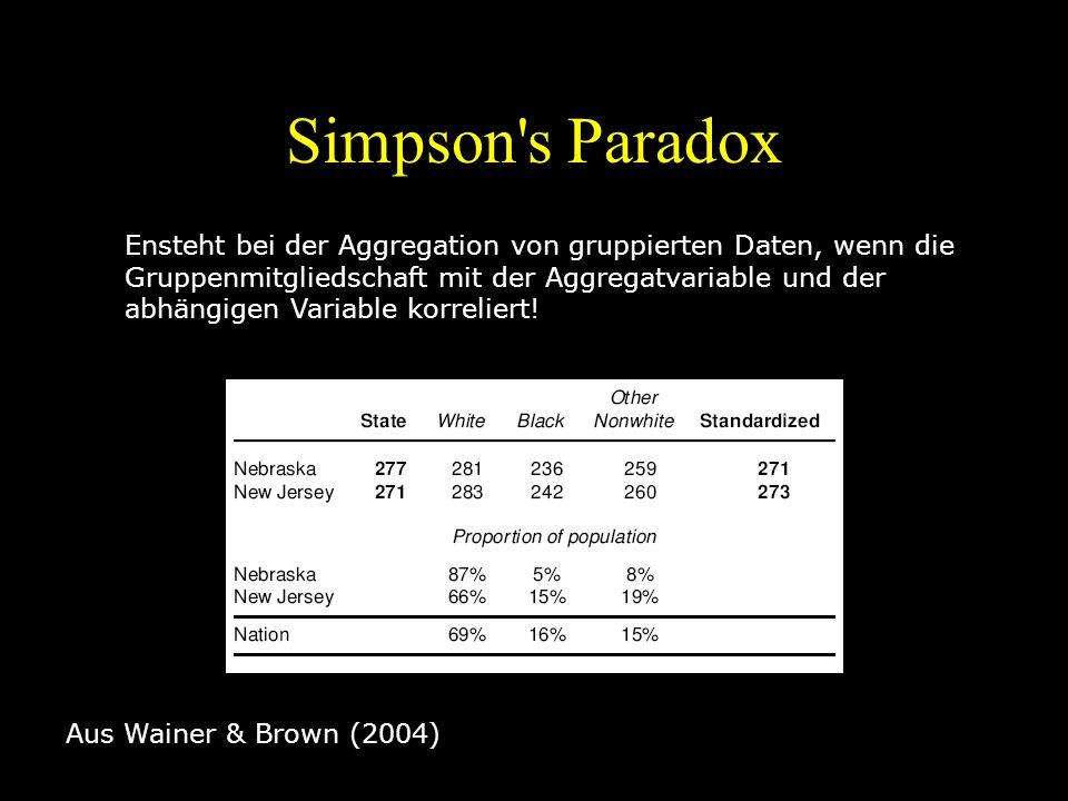 Simpson s Paradox