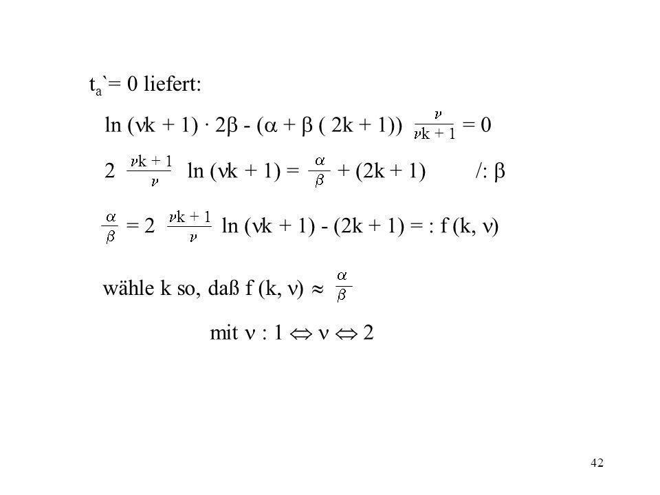ln (k + 1) · 2 - ( +  ( 2k + 1)) = 0