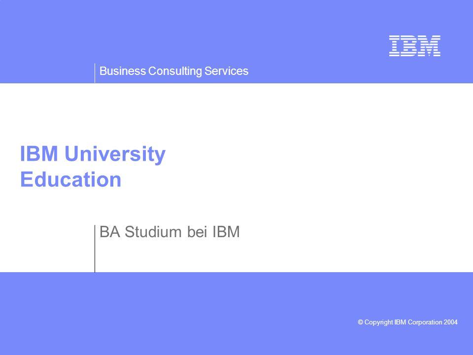 IBM University Education