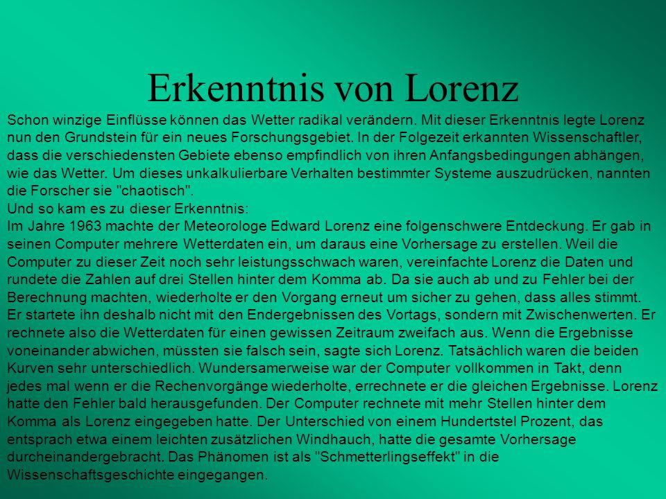 Erkenntnis von Lorenz