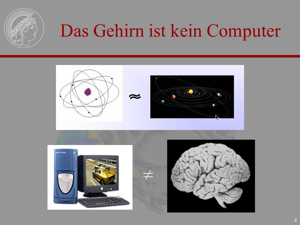 Das Gehirn ist kein Computer