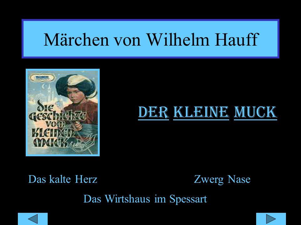 Märchen von Wilhelm Hauff
