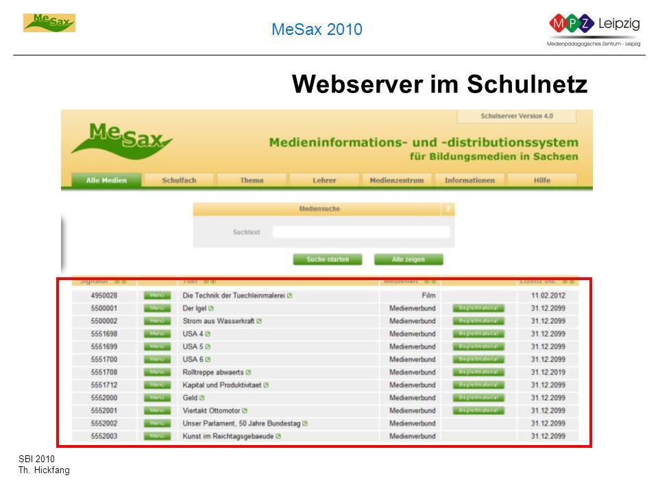 Webserver im Schulnetz
