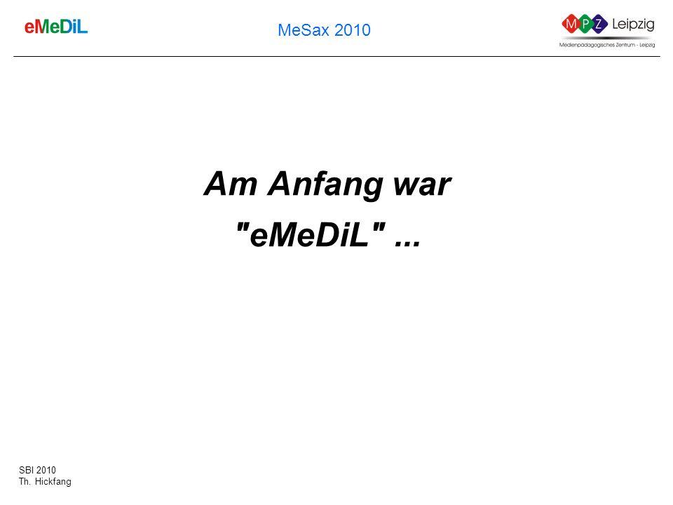 Am Anfang war eMeDiL ...