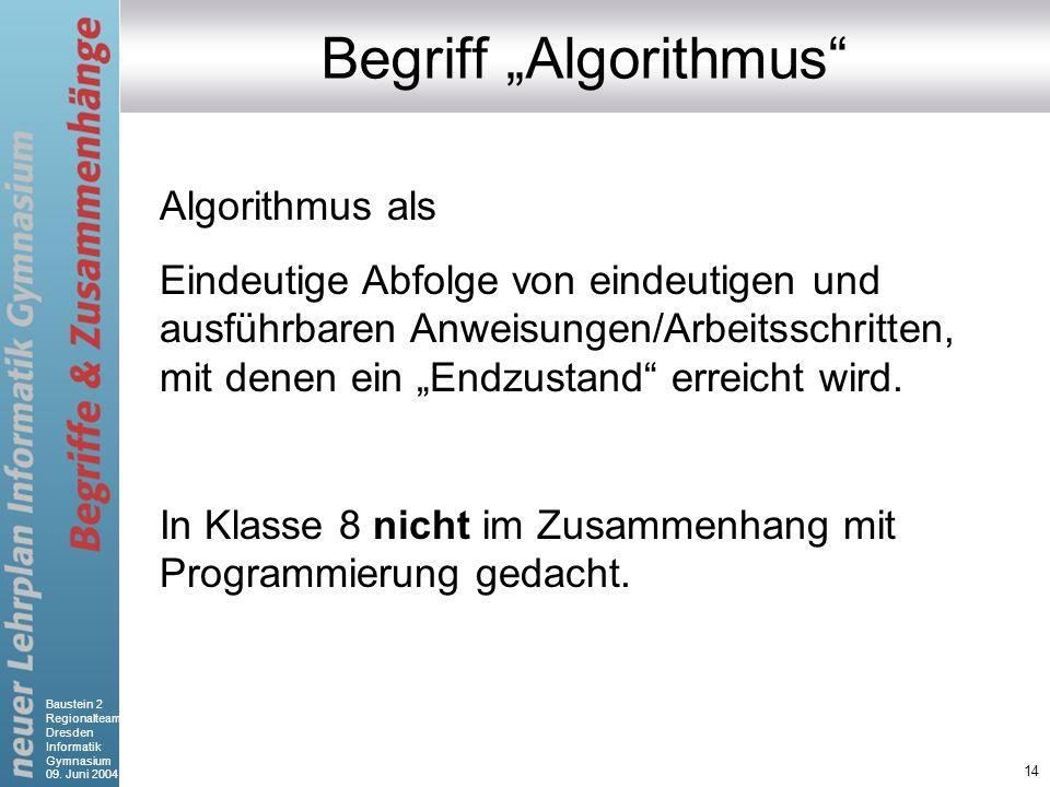 "Begriff ""Algorithmus"
