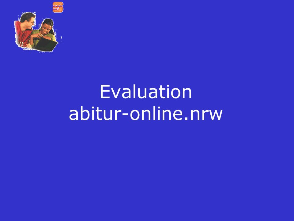 Evaluation abitur-online.nrw