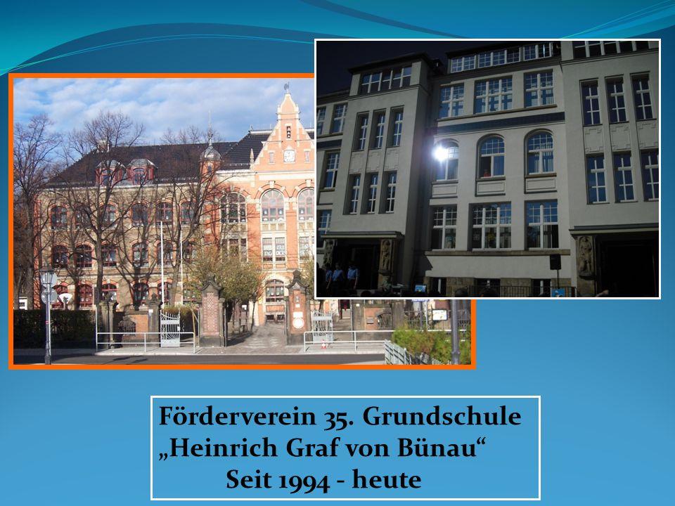 """Förderverein 35. Grundschule """"Heinrich Graf von Bünau"""
