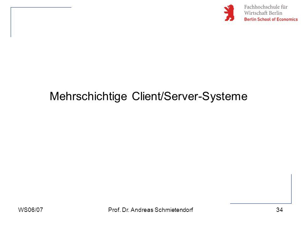 Mehrschichtige Client/Server-Systeme
