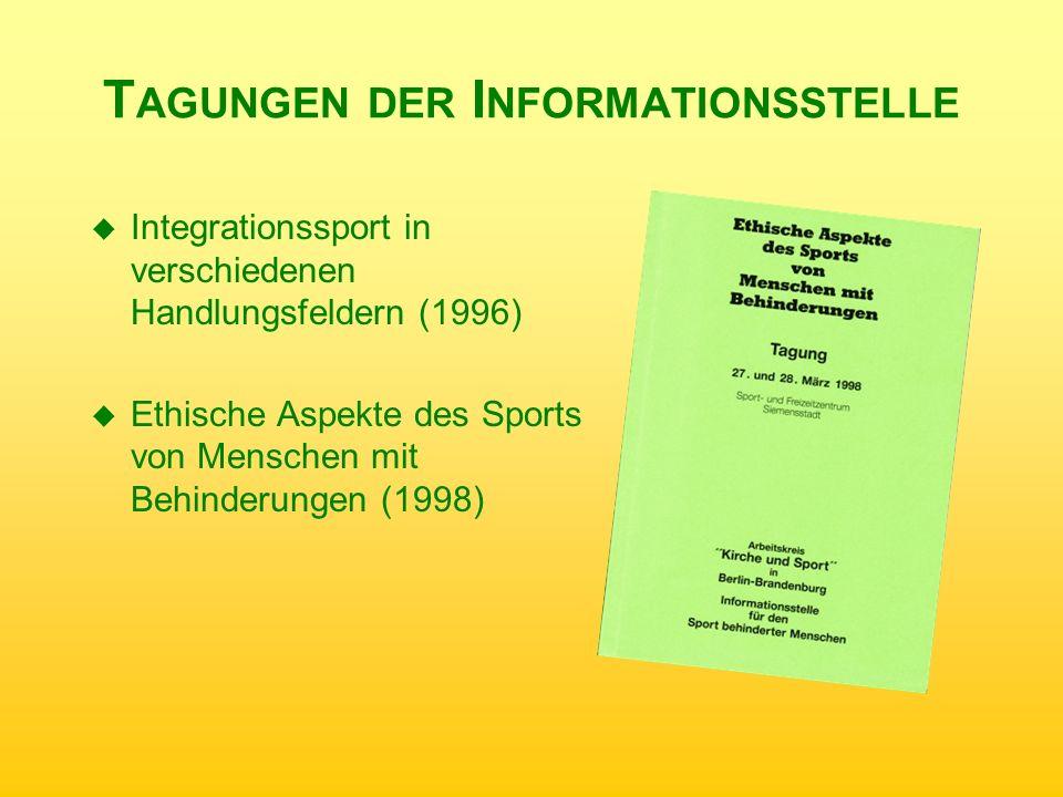 Tagungen der Informationsstelle