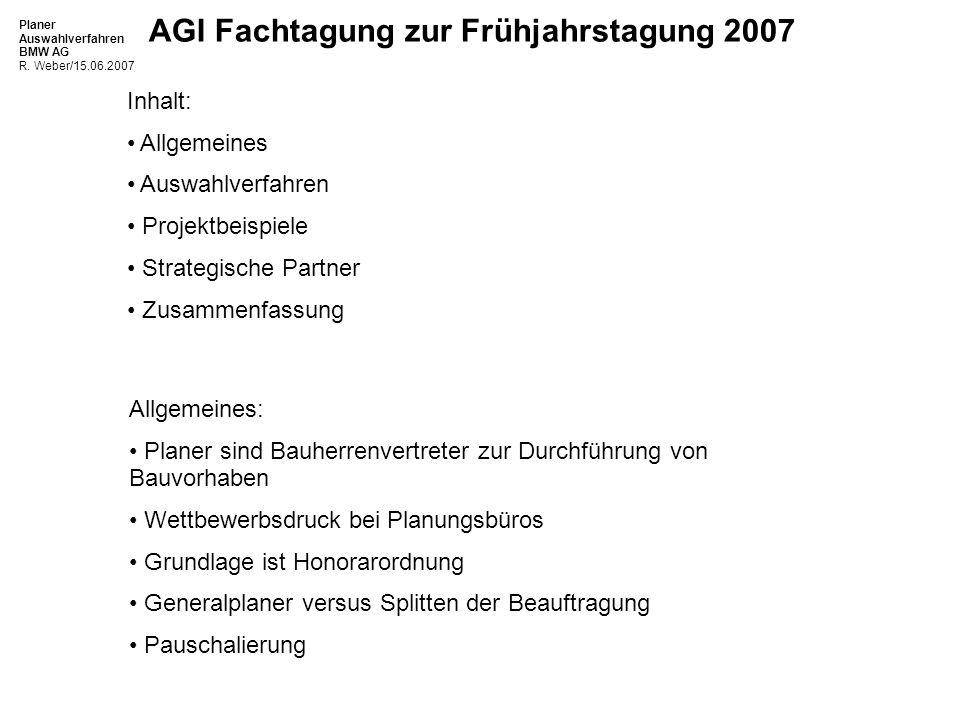 Inhalt: Allgemeines. Auswahlverfahren. Projektbeispiele. Strategische Partner. Zusammenfassung.