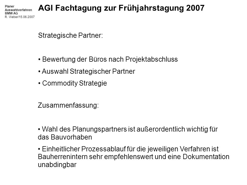 Strategische Partner: