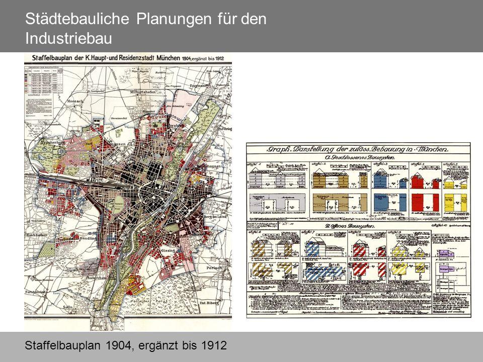 Staffelbauplan 1904, ergänzt bis 1912