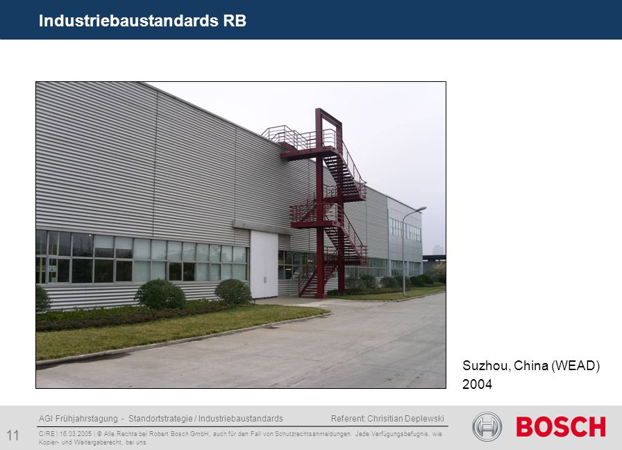 Industriebaustandards RB